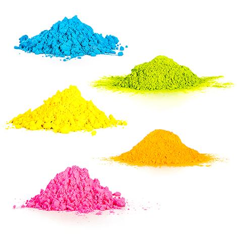 Verschillen KleurenPoeder