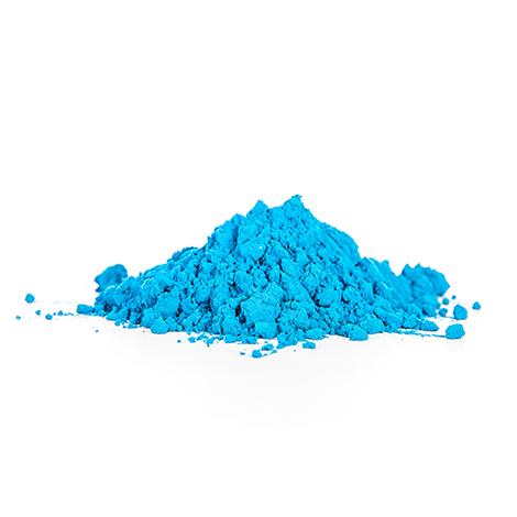 Licht Blauw KleurenPoeder