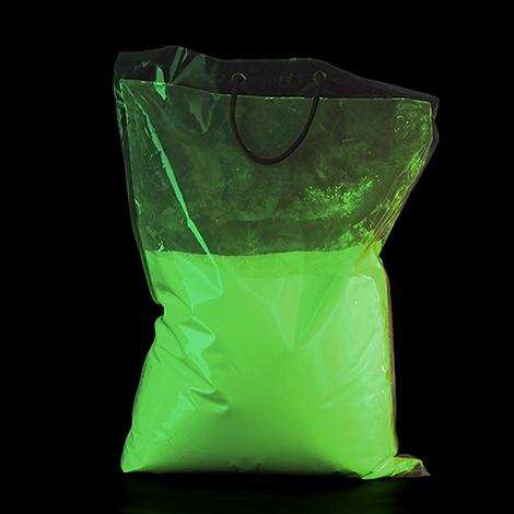 UV NEON groen kleurenpoeder