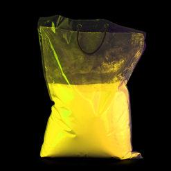 UV NEON Geel kleurenpoeder