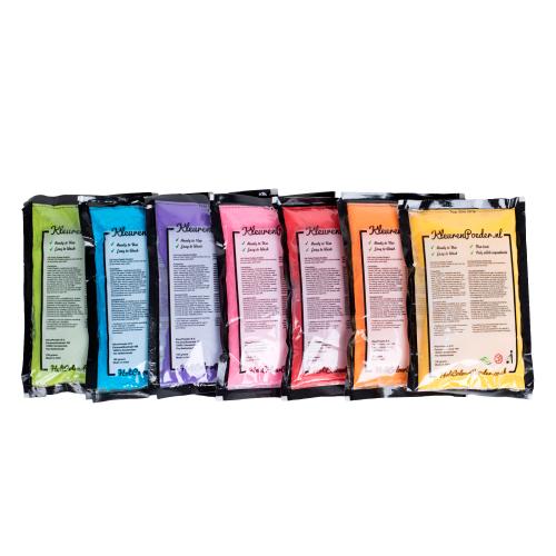 7 zakjes 7 kleuren